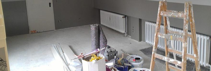 travaux de renovation de son domicile