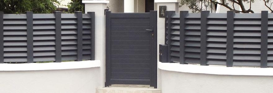 Cloture en PVC ou en aluminium