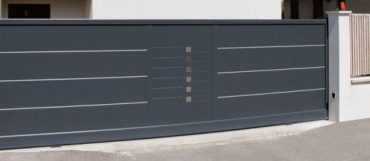 Portail aluminium battant ou portail alu coulissant
