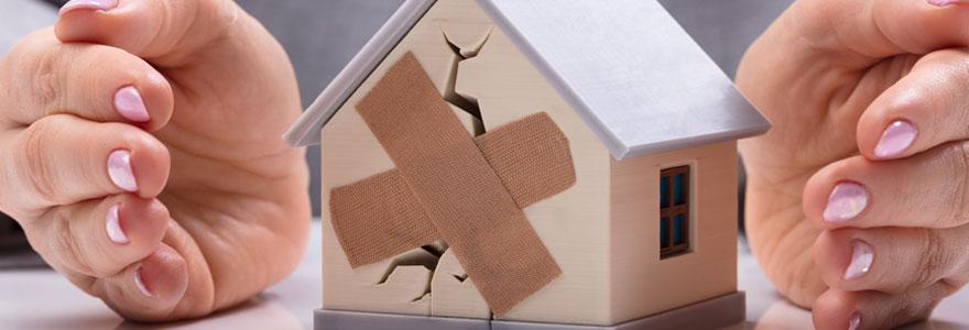 Malfaçons et fissures de maison
